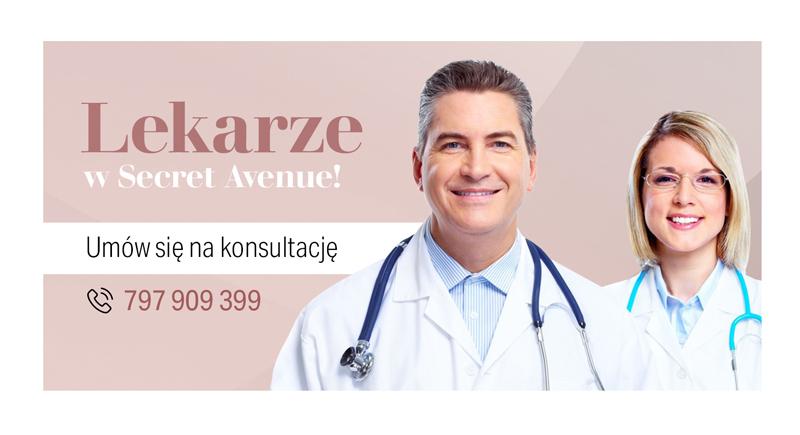 lekarze w salonie kosmetycznym w Gdańsku
